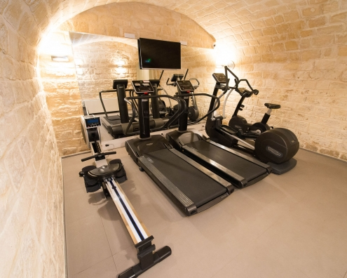 Fitness & Spa-bereich